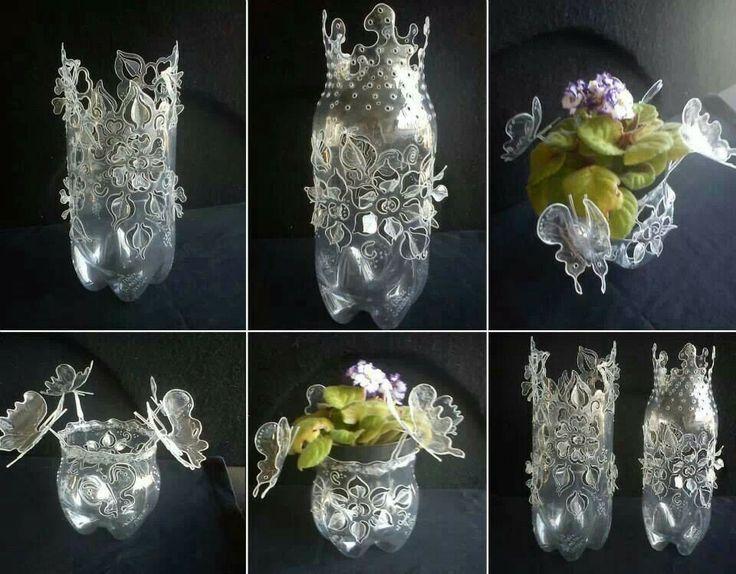 Exceptionnel 71 best recyclage bouteille images on Pinterest | Plastic bottles  UN33