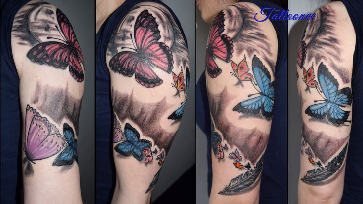 spiral butterfly
