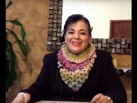 PECHERA de Angorita Gold - Tejido Fácil y Rápido - Tejiendo con LAURA CEPEDA - YouTube