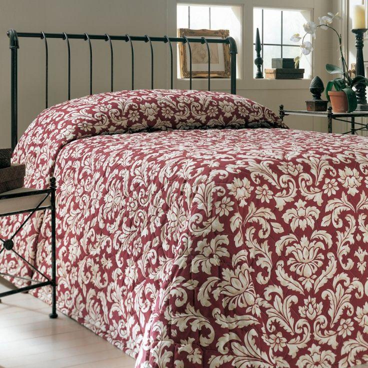 Martex Vienna Chianti Red Bedspread