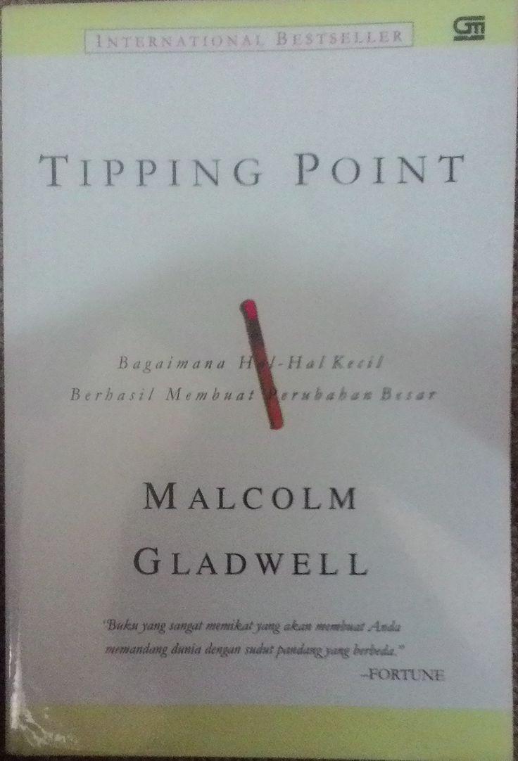 """Tipping Point"" Malcolm Gladwell #buku #sewabuku #perpustakaan"