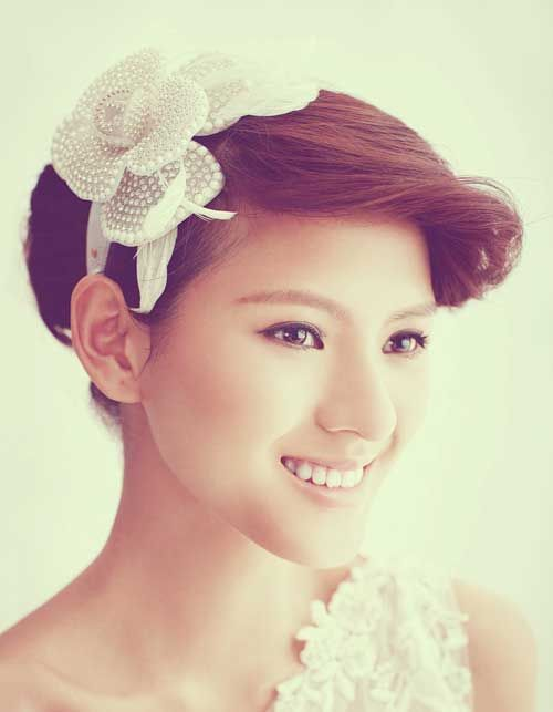25 Short Wedding Hairstyles
