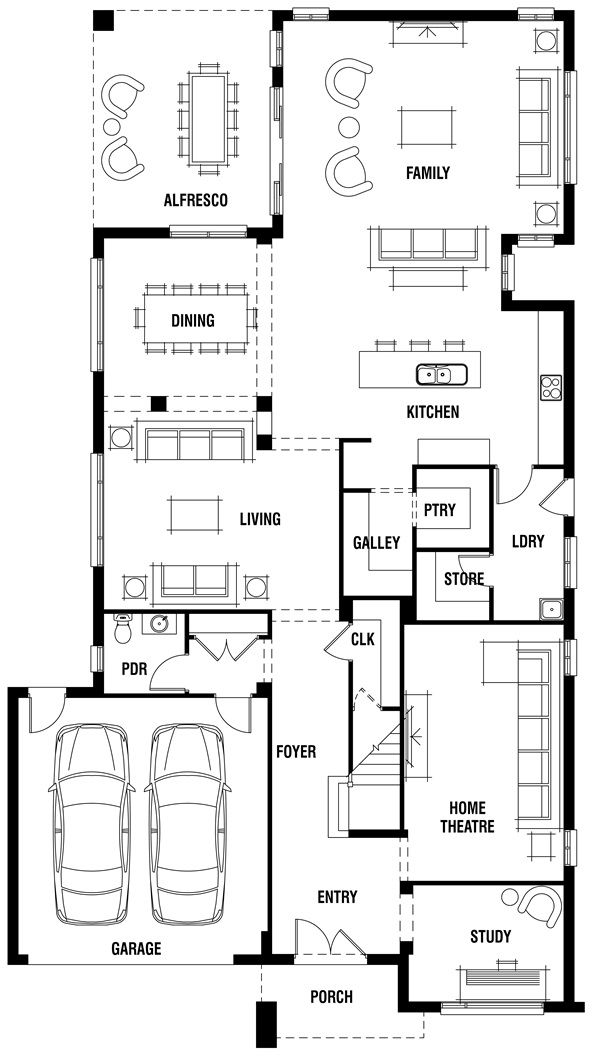 12 best Canberra Home {Layout} images on Pinterest | Floor plans ...
