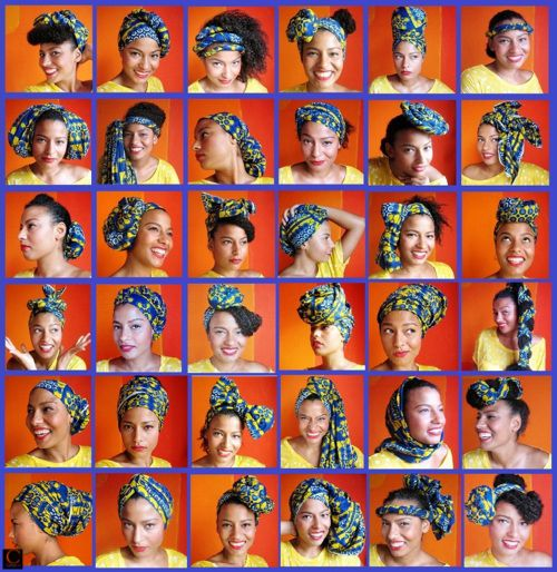 Head Wraps Ideas http://blog.fabmagazineonline.com/wp-content/uploads/2011/10/36ways-%2Bto-attach-your%2Bafricanprint%2Bhead-scarf%2Bciaafrique.jpg