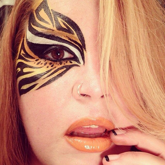 best 25 tiger makeup ideas on pinterest karneval