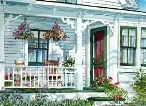 Donalda's Porch 2007   Joy Laking Gallery