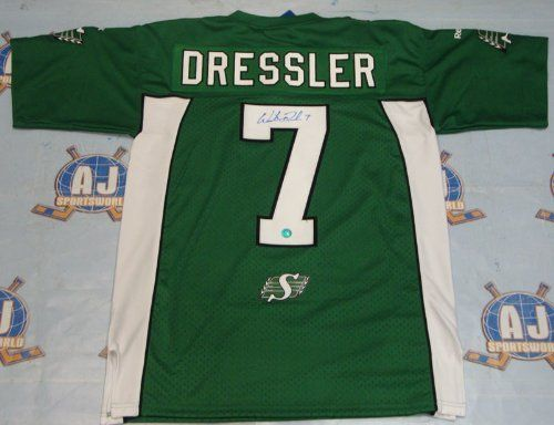 WESTON DRESSLER Saskatchewan Roughriders