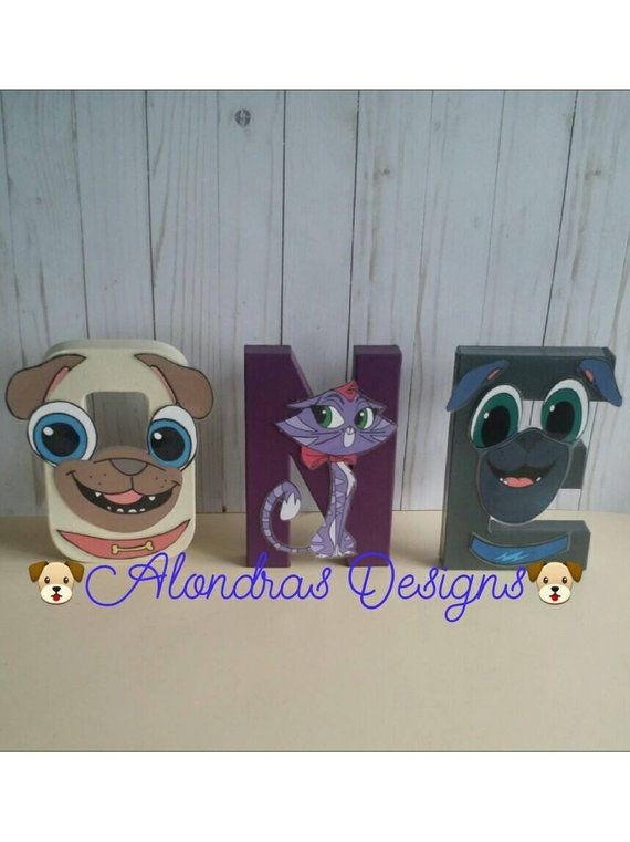 Pin By Alondrasdesigns On Puppy Dog Pals Girls Birthday Dogs