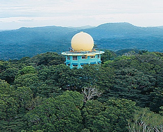 World's Most Unusual Hotels:   Photo: Courtesy of Canopy Tower   Canopy Tower, Panama:   What It Is: A onetime U.S. radar installation inside Panama's Soberania National Park with 12 double rooms.  But the real reason to stay is what's up above: a 30-foot-high geotangent dome that rises above the canopy, affording birders 360-degree views.