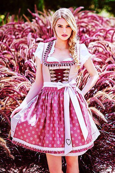 Pink dirndl