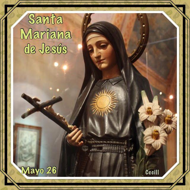 Santidad Ecuador: Santa Mariana de Jesús, Estampas Varias