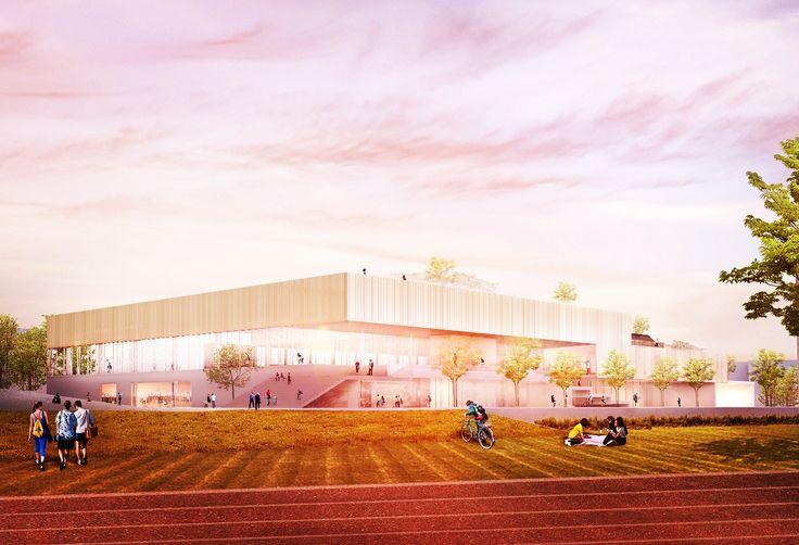 Guillermo González + Francisco Naranjo. Competition Collado Villalba Sports Center