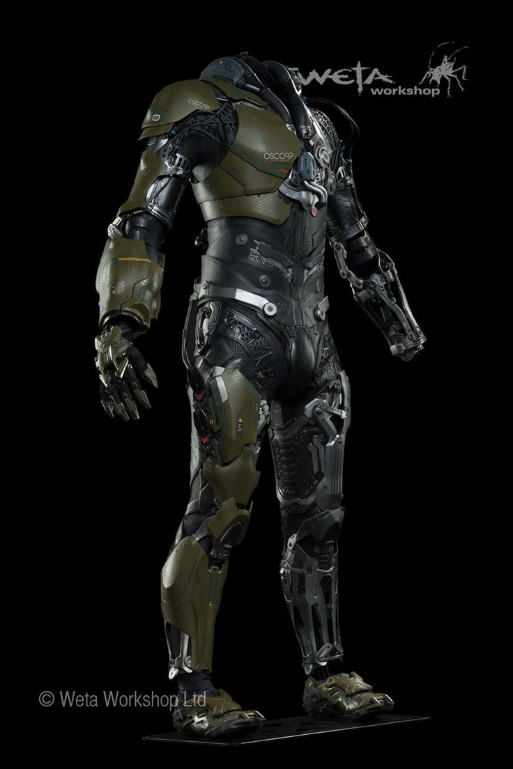 www.Edward-Denton.com Amazing Spiderman 2 - Green Goblin Costume