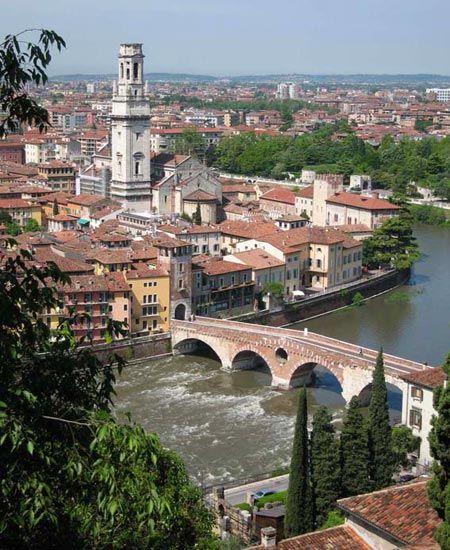 Verone ville de Roméo et Juliette italie 2015                                                                                                                                                                                 Plus