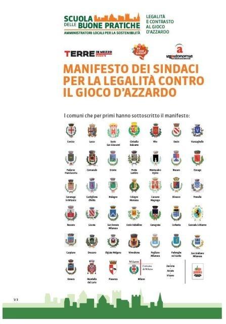 Desio is part of the no slot municipalities italian network