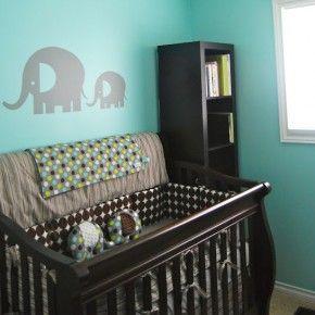 Baby Nursery - Adorable Elephants