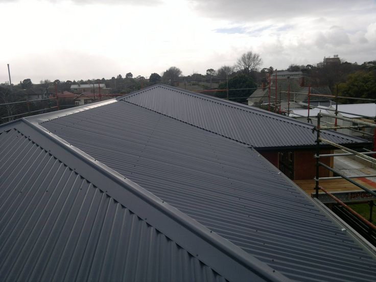 Colorbond Roofing - Ironstone
