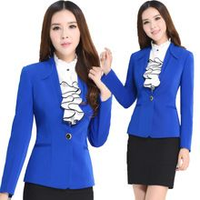 Mulheres Ternos Blazer com Camisa e Saia Uniformes Escritório Projetos Novos 2016 Das Mulheres de Negócios 3 peça Conjunto Feminino Saias Terno(China (Mainland))