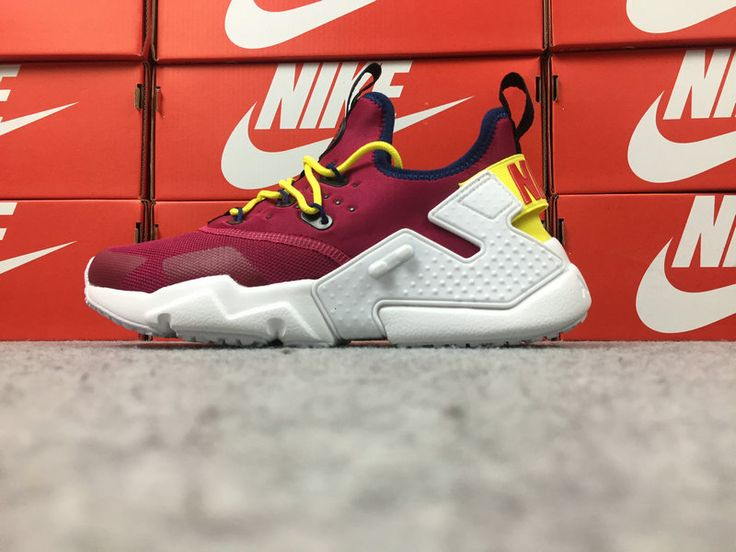 Sneakernews Recommend Nike Air Huarache Drift Wine Red White Running Shoe Huarache For Sale
