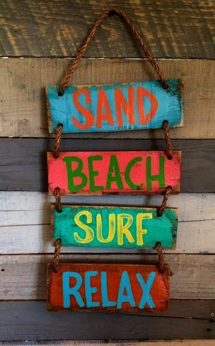Beach House Signs Outer Banks Nautical Letter