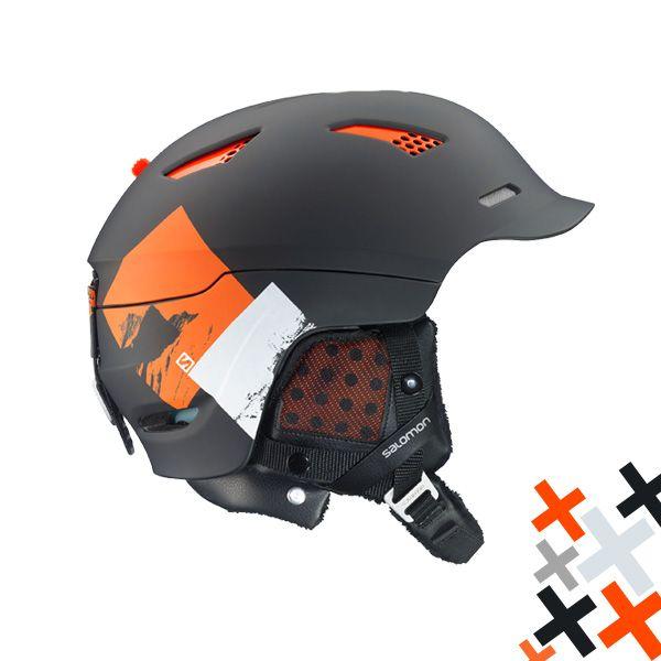 Casca schi/snowboard Salomon Prophet Custom Air Black/Orange de top, din gama all-mountain. Cu tehnologia Custom Air va bucurati de o potrivire exacta pe forma capului datorata sistemului de fixare personalizat pe baza de aer.