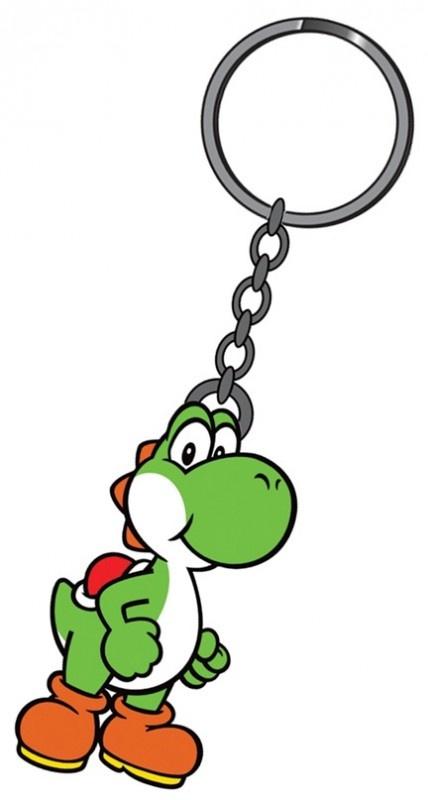 Nintendo Yoshi Rubber Keychain | Keychains | The A Factor Shop