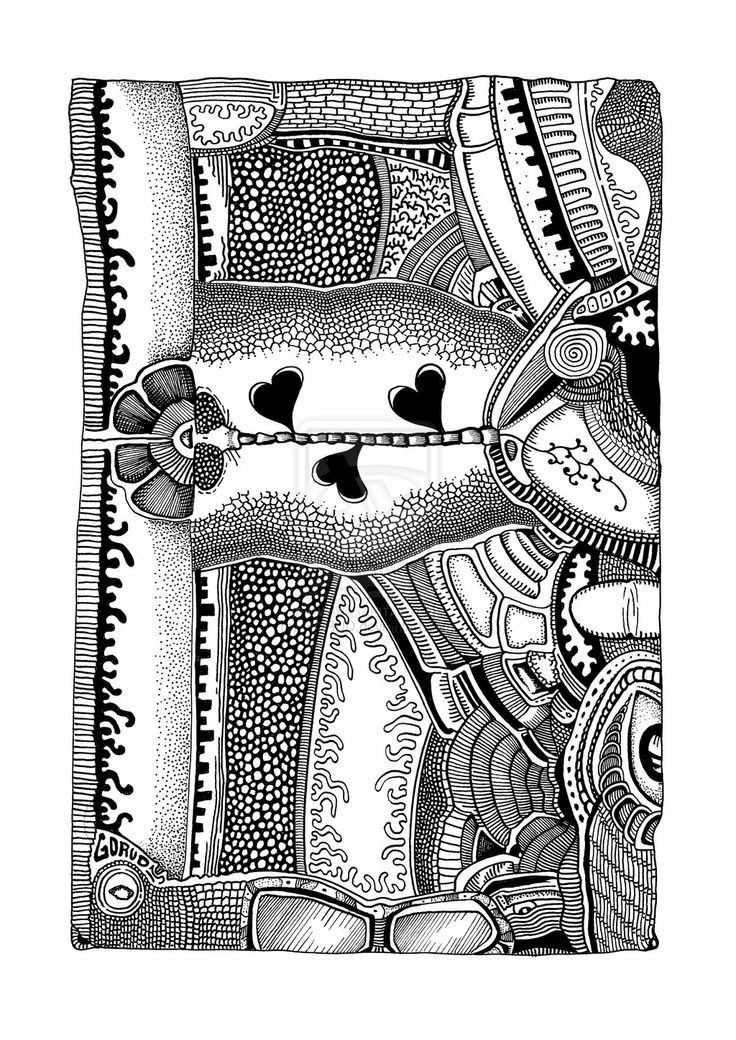Epiphyte (2013) by GORUD.deviantart.com on @deviantART #Ink #Art #BW #Graphic #Drawing #Pen