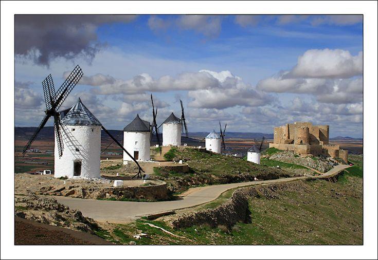 Castillo de Consuegra. Castilla la Macha. Spain.