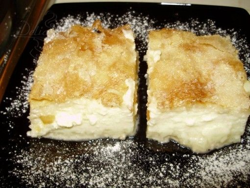 Yoghurt Phyllo Pie, Plăcintă cu iaurt