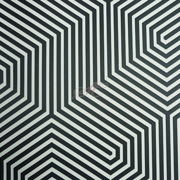 Cole and Son Wallpaper Geometric Labyrinth 93-5018