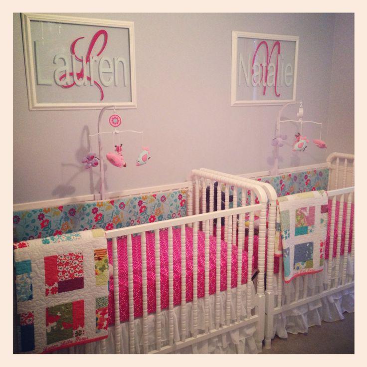 Twin Girls Nursery
