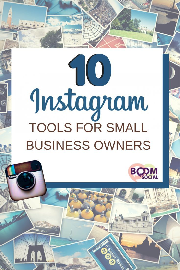 Using the right tools can save you time and money, and can actually make you a better marketer. Don't believe me? Take these 10 Instagram tools for small business owners for a test drive and tell me what you think! #marketing #socialmedia #visualmarketing