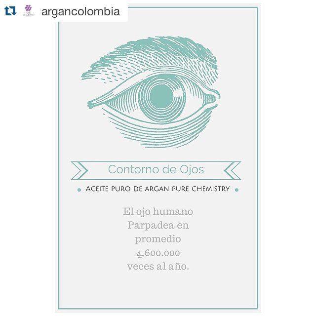 Sobre la piel húmeda una gotita de #arganpurechemistry alcanza  #Repost  @argancolombia ・・・ Cuida el contorno de tus ojos con aceite puro de #argan #purechemistry pues son los primeros en revelar los signos de la edad, ya que parpadeamos casi 5 millones de veces al año! #arganoil #argancolombia #beauty #skincare #wrinkles #arrugas #ecocert #beautytips #eye #antiage #purechemistry #vegan #crueltyfree #beautyoils