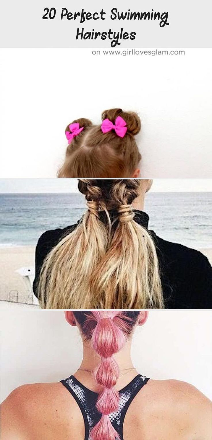 20 Perfect Swimming Hairstyles in 2020 With images ...
