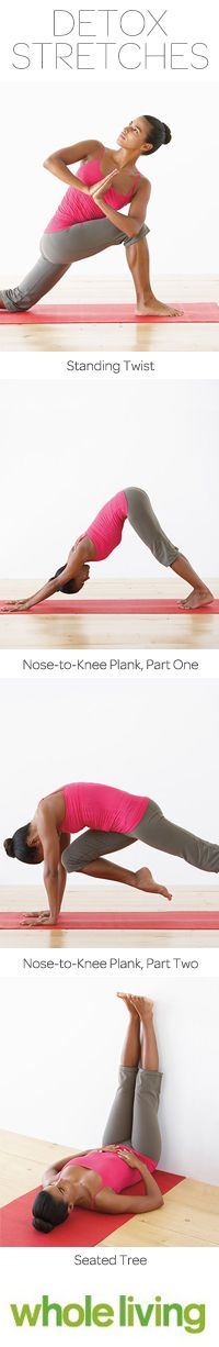 Try these gentle moves that increase circulation and help your system work more efficiently, Wholeliving.com