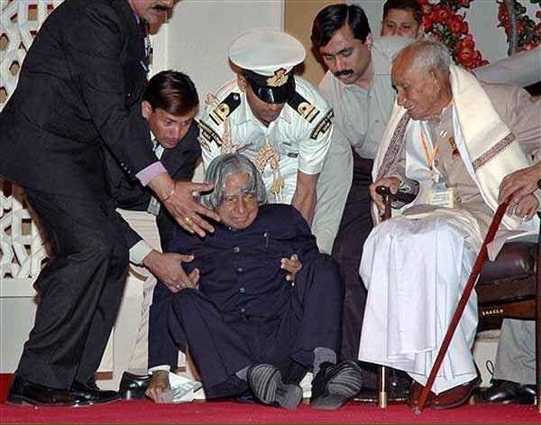 Last Moment photo of Dr APJ Abdul Kalam