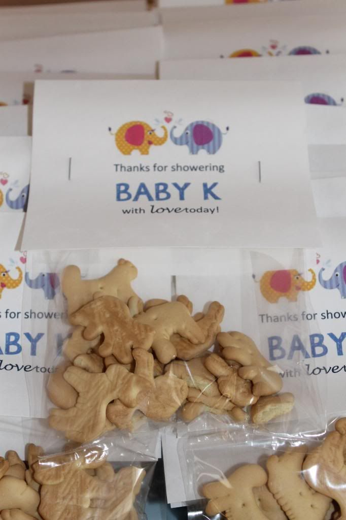 Animal Cracker Favors | 366 Days of Pinterest