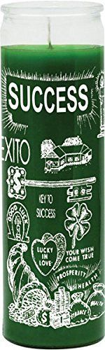 Success Green Candle - Silkscreen 1 Color 7 Day >>> Want additional info? Click on the image.