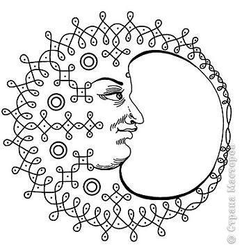 Узоры и символы в Менди Индия фото 16