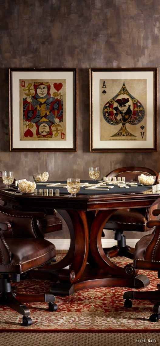 This is how you play cards in style. See how much it costs to remodel your basement and turn it into the man cave of your dreams!