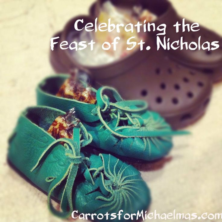 Little HolyDays: The Feast of St. Nicholas | Carrots for Michaelmas