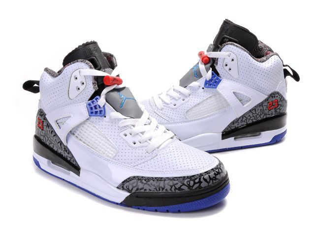 Air Jordan Spizike 3.5 Retro Mens Shoes White Black Jordan