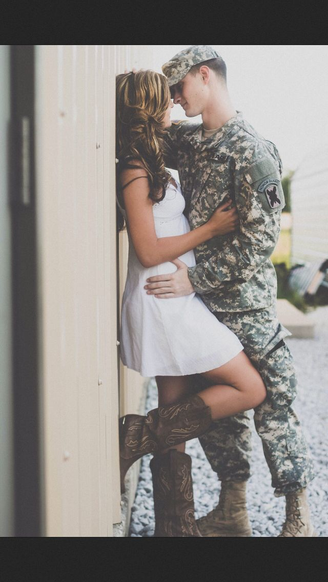 Absolutely love this pic considering my boyfriend is a soon to be soldier