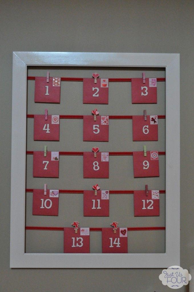 Valentine Calendar Ideas : Best ideas about day countdown on pinterest diy