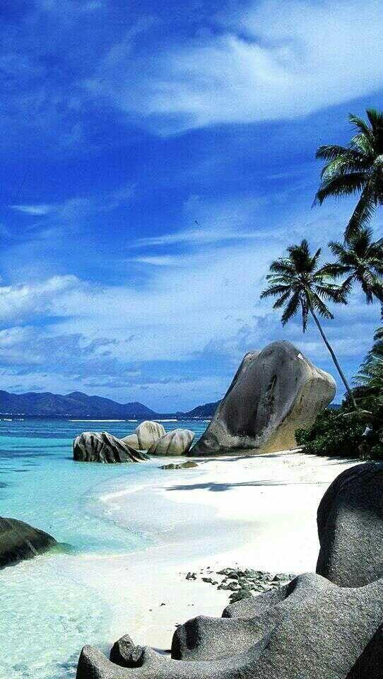 En el Caribe...Muy bonito no?