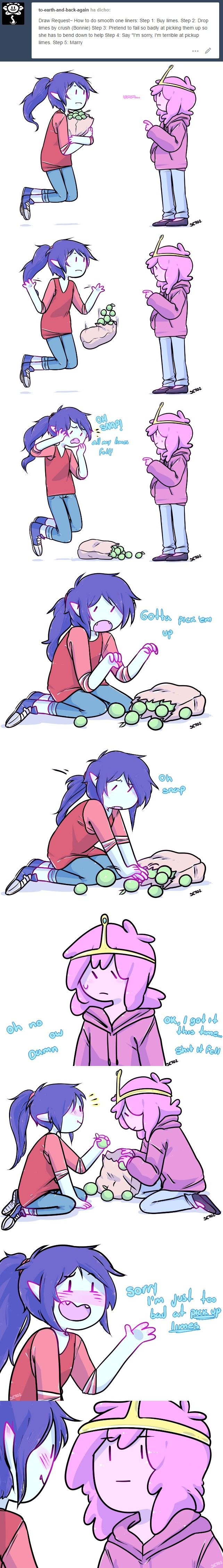 Bubbline Limes by seto2 - I need a relationship >_<