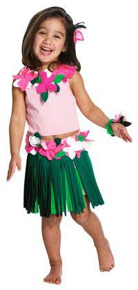 Toddler Hula Girl Costume - Hawaiian Costumes