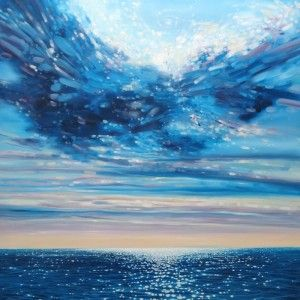 Lord-of-Sea-and-Sky oil painting by Gill Bustamante