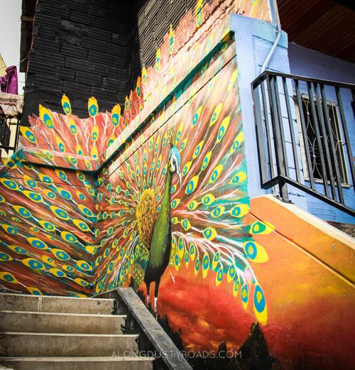 street art & stairways: the colour of comuna 13 — along dusty roads