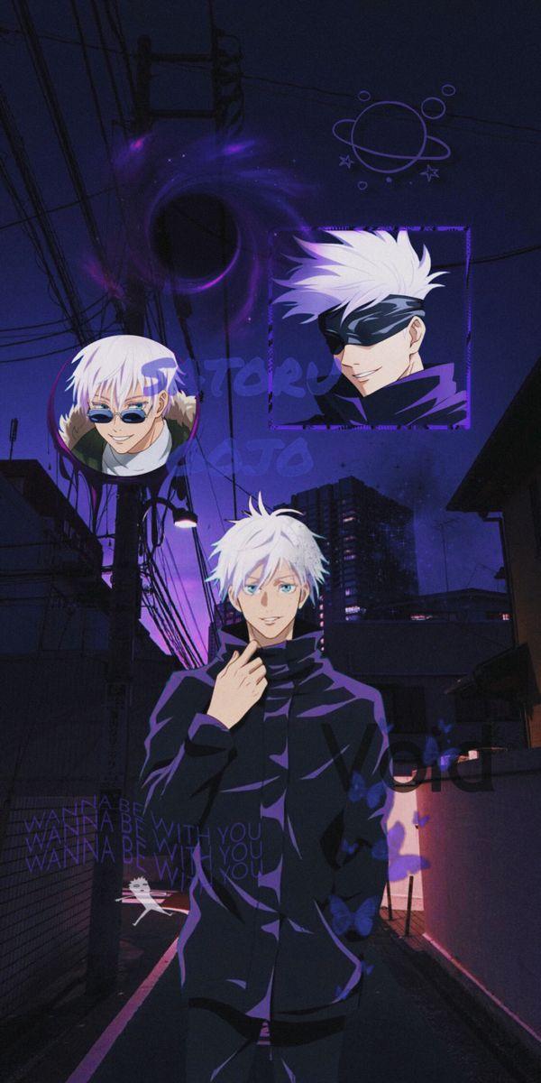Gojo Satoru Wallpaper Aesthetic In 2021 Aesthetic Anime Anime Wallpaper Anime Wallpaper Phone